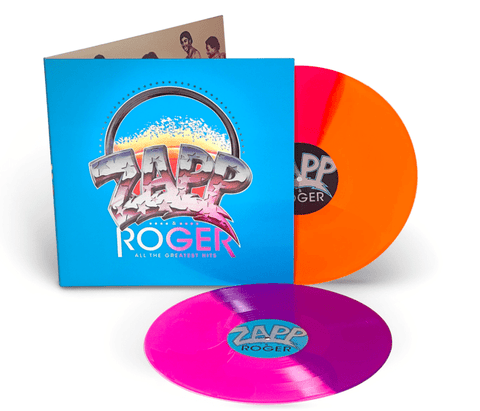 Zapp & Roger - All The Greatest Hits (2LP Coloured Vinyl)