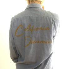 Load image into Gallery viewer, California Dreamin' Chambray Shirt, refurbished