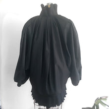 Load image into Gallery viewer, Morton Myles Vintage Pleated Jacket, 80s Avant-Guarde