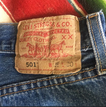 Load image into Gallery viewer, Vintage Levi's 501 Denim Jean,