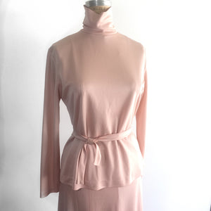 Vintage Top and Skirt Set by Rina of California, MCM fashion