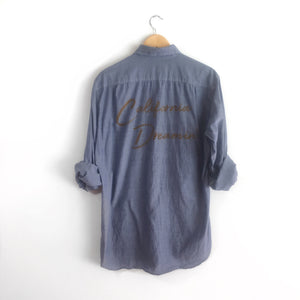 California Dreamin' Chambray Shirt, refurbished