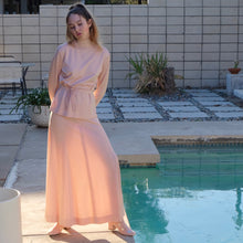 Load image into Gallery viewer, Vintage Top and Skirt Set by Rina of California, MCM fashion