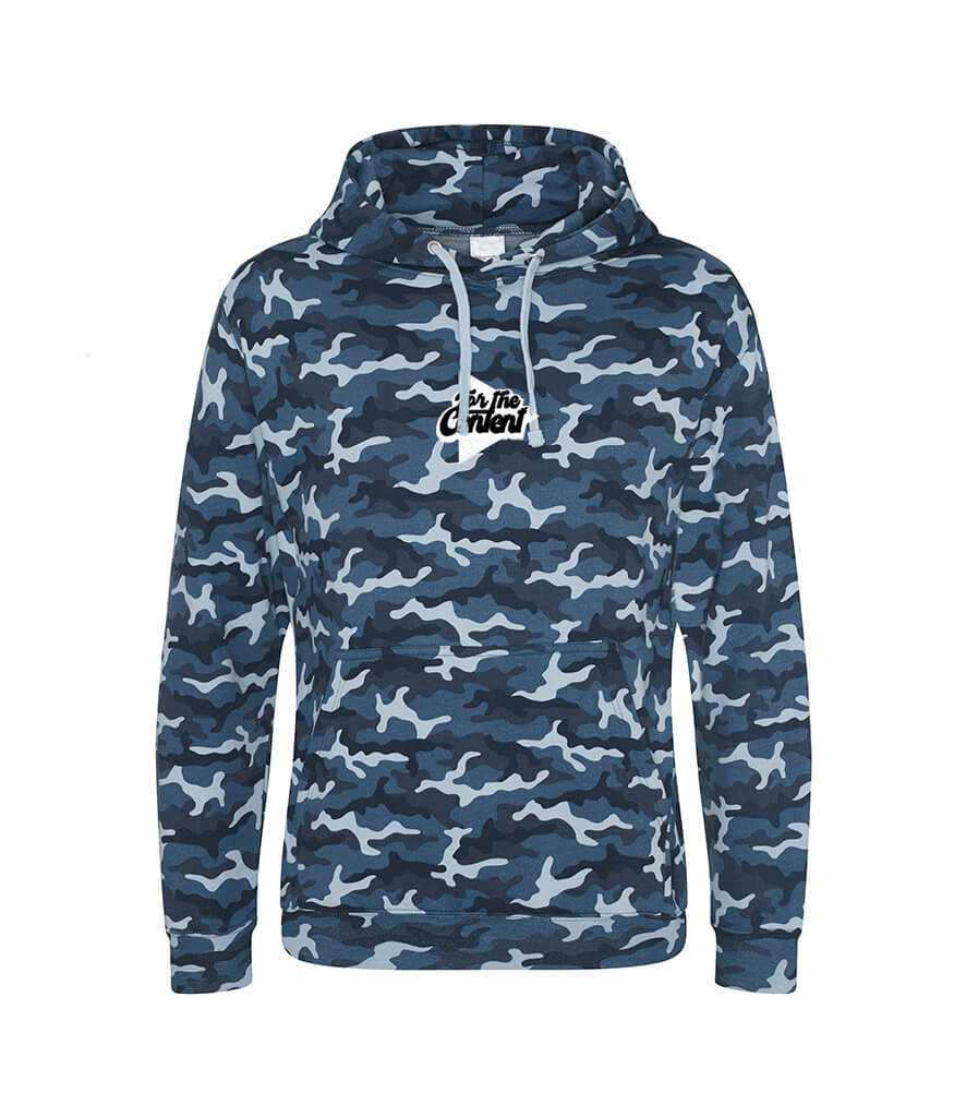 New Camo Hoodie with FREE Signed Coaster!