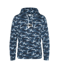 Load image into Gallery viewer, 'For the Content' Embroidered Camo Hoodie (Various Colours)
