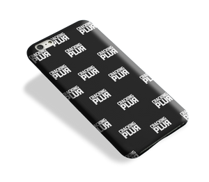 'Cracking Plur' Glossy Phone Case