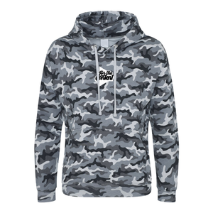 'For the Content' Embroidered Camo Hoodie (Various Colours)