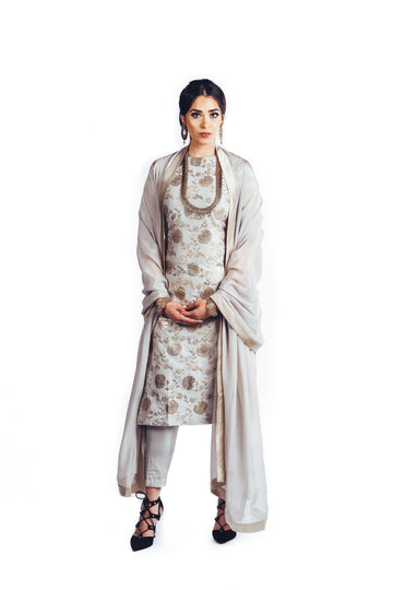 The Orchid Kurta Suit