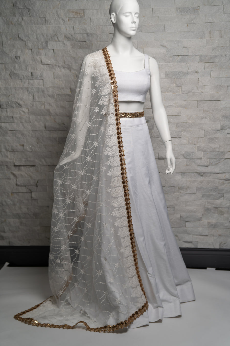 White Lengha Set Small