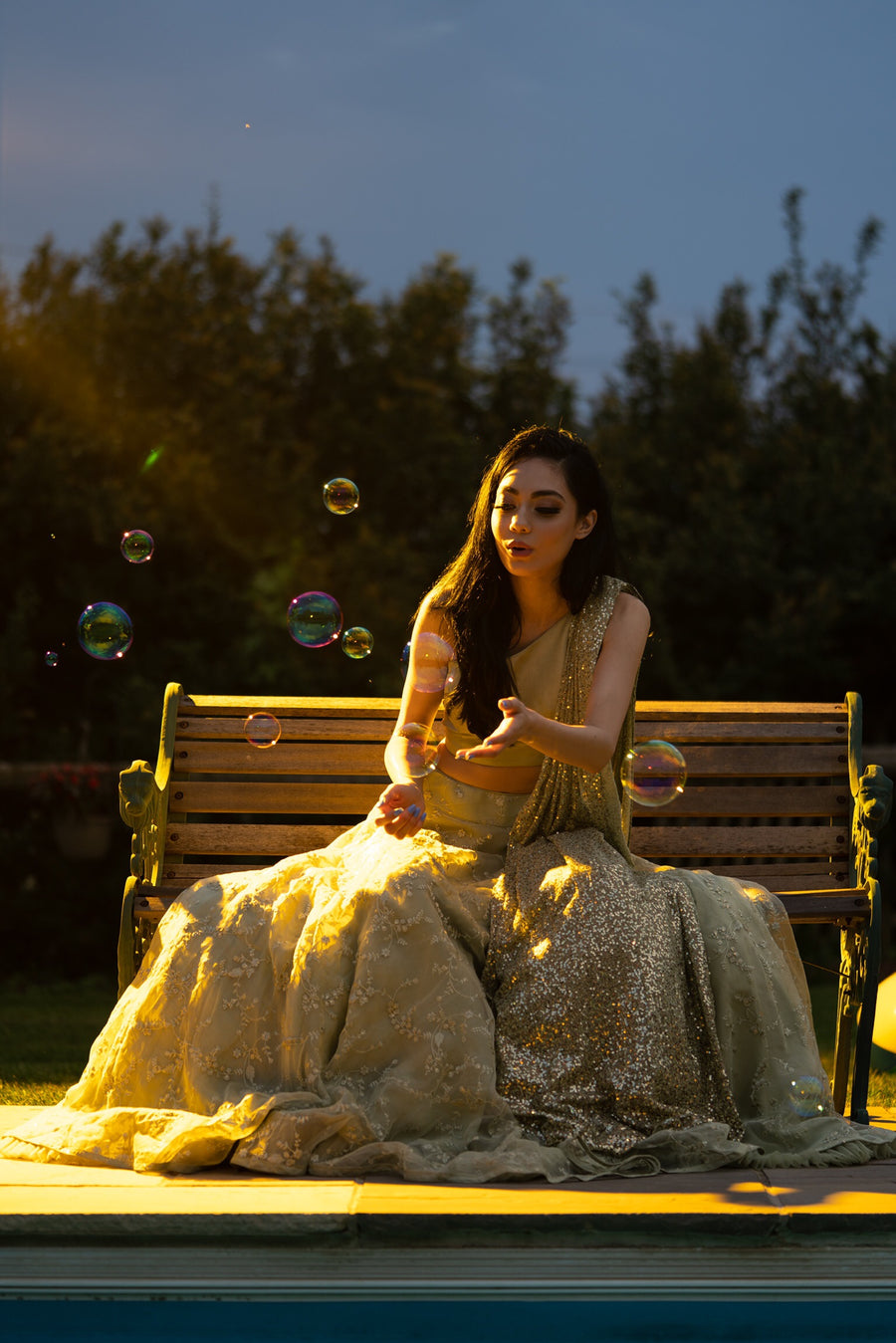 The Estio Lehenga