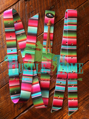 Candy Serape Cinch Strap Set