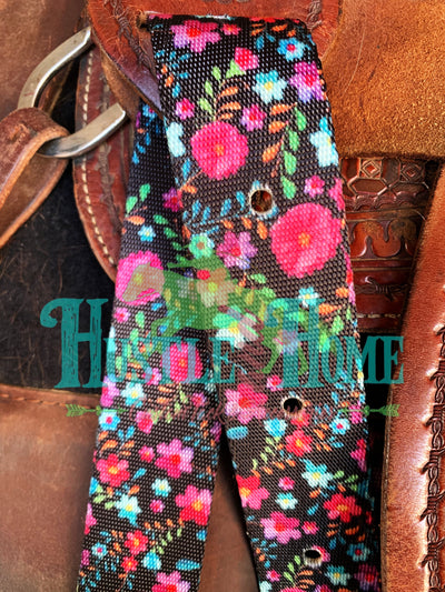 Fiesta Floral Cinch Strap Set