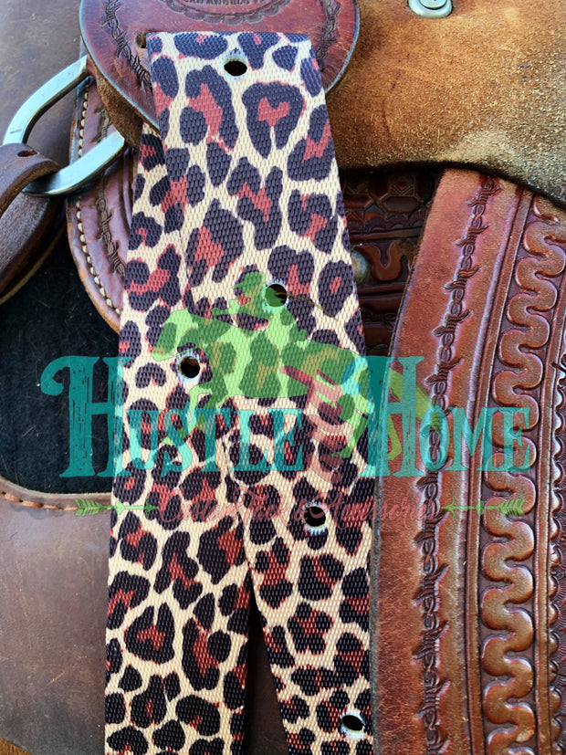 Leopard Cinch Strap Set