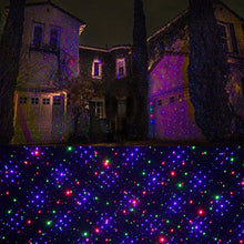Load image into Gallery viewer, Classic: Motion 8 Patterns in 1 RGB Outdoor Garden Laser Christmas Lights