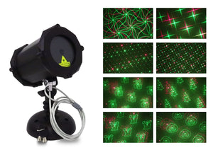 Deluxe Red & Green™ Laser Projector - Bluetooth Edition