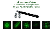 5 Image Filter Laser Pointer