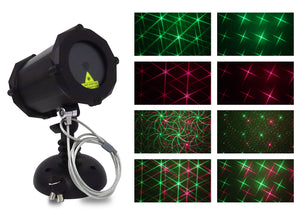 SuperStar Red & Green™ Laser Projector - Bluetooth Edition