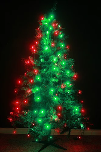 TreeHUE™ | Smart Christmas Lights - App Controlled - 150+ Effects