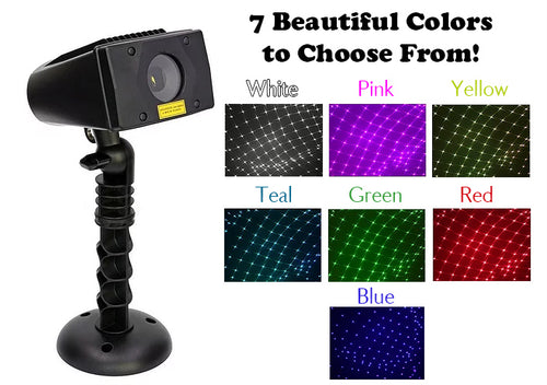 Full Spectrum White Laser Projector™ -