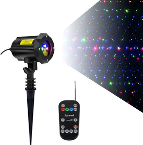 Classic: Firefly RGB Outdoor Garden Laser Christmas Lights