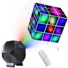 Load image into Gallery viewer, Star Aurora™ Laser Green and RGB LED Night Lights Decorative Projector with Bluetooth Speaker and Remote Control -Dark Gray