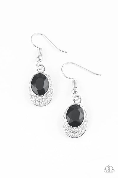 Paparazzi As Humanly POSH-ible - Black Earrings - Princess Glam Shop