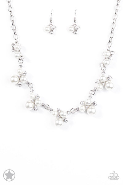 Paparazzi Toast To Perfection White Necklace Set - Princess Glam Shop
