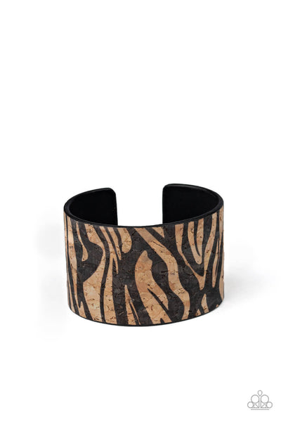 Paparazzi Zebra Zone - Black Bracelet - Princess Glam Shop