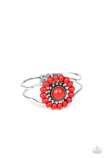 Paparazzi Posy Pop - Red Bracelet - Princess Glam Shop