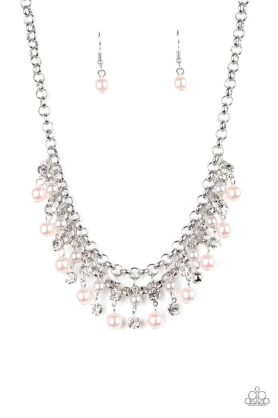 Paparazzi You May Kiss the Bride - Multi Color Necklace Set - Princess Glam Shop