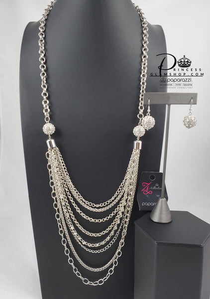 Paparazzi The Mandi - 2015 Signature Zi Collection Necklace Set - Retired - Princess Glam Shop