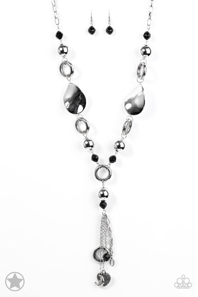 Paparazzi Total Eclipse Of the Heart Necklace Set - Princess Glam Shop
