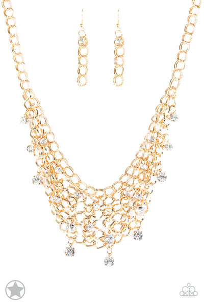 Paparazzi Fishing for Compliments - Gold Necklace Set - Princess Glam Shop