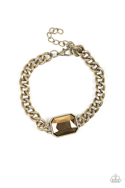 Paparazzi Command and CONQUEROR - Brass Bracelet - Princess Glam Shop