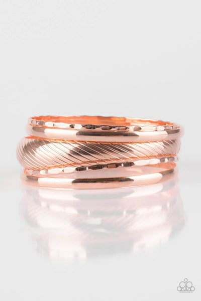 Paparazzi Boss of Boho Bangle Bracelet Set - Princess Glam Shop