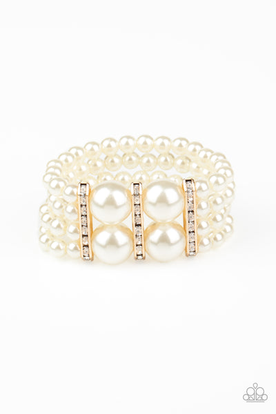 Paparazzi Romance Remix - Gold Bracelet - Princess Glam Shop