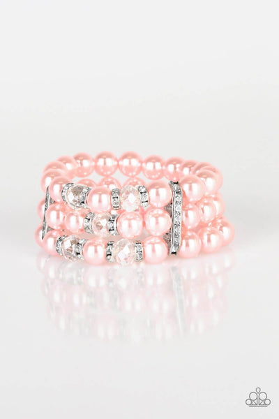 Paparazzi Undeniably Dapper - Pink Bracelet - Princess Glam Shop
