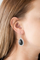 Paparazzi Sahara Serenity Black Earrings - Princess Glam Shop