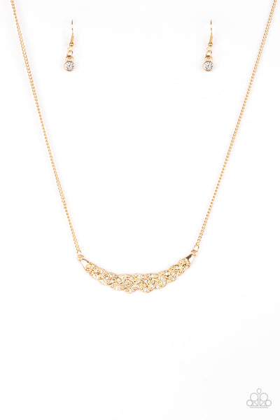 Paparazzi Whatever Floats Your YACHT- Gold Necklace Set - Princess Glam Shop