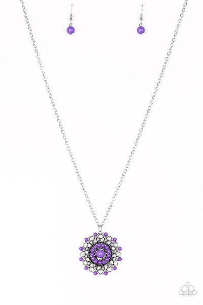 Paparazzi Boho Bonanza - Purple Necklace Set - PrincessGlamShop