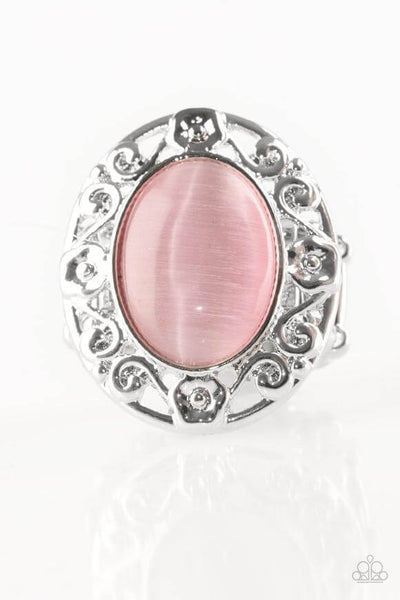 Paparazzi Moonlit Marigold - Pink Moonstone Ring - Princess Glam Shop