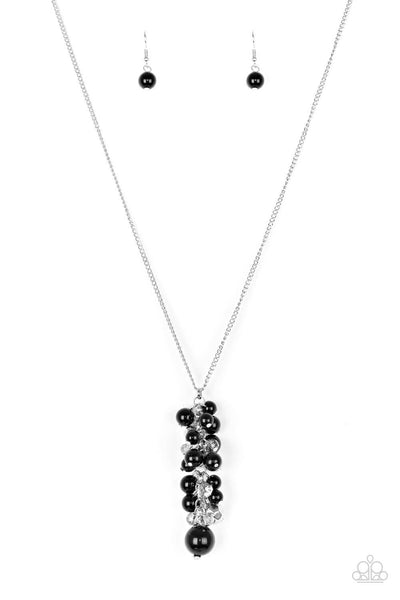 Paparazzi Ballroom Belle - Black Necklace Set - Princess Glam Shop