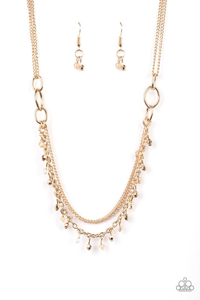 Paparazzi Financially Fabulous - Gold Necklace Set - Princess Glam Shop