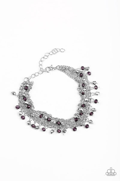 Paparazzi Cash Confidence - Purple Necklace Set - Princess Glam Shop
