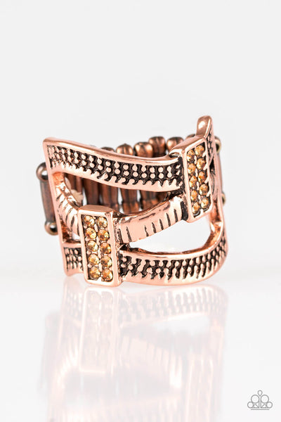 Paparazzi Urban Upscale - Copper Ring - Princess Glam Shop