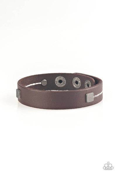Paparazzi Totally Trailblazing - Brown Bracelet - Princess Glam Shop