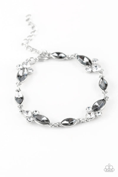 Paparazzi At Any Cost - Silver Bracelet - Princess Glam Shop