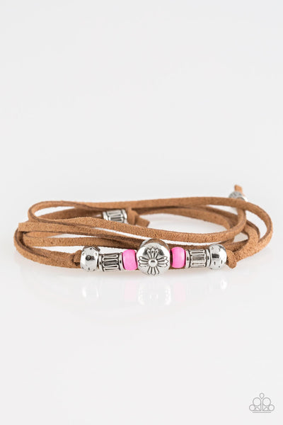 Paparazzi Find Your Way - Pink Bracelet - Princess Glam Shop