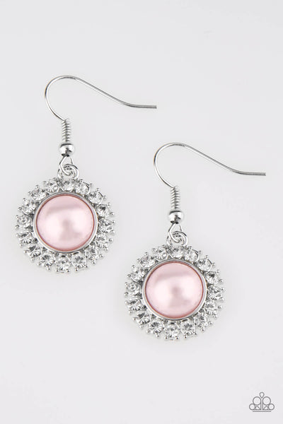 Paparazzi Fashion Show Celebrity - Pink Earrings - Princess Glam Shop
