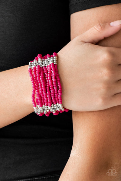 Paparazzi Outback Odyssey - Seed Bead Bracelet - PrincessGlamShop